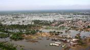Hace un mes el desborde del río Piura inundó la ciudad
