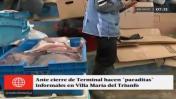 Cierran terminal pesquero de Villa María del Triunfo [VIDEO]