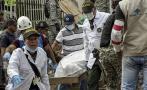 Colombia: La búsqueda de vida en medio de un edificio colapsado