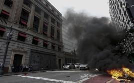 Brasil: Sao Paulo amanece sin transporte por huelga general