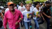 Venezuela: oposición marcha hacia la cárcel donde está López