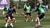 Madrid: Isco entrenó con titulares previo a duelo ante Valencia