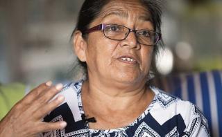 Teresa Ávila dio una entrevista a El Comercio en la que reitera que el ex presidente Humala es el responsable de la  muerte de su hermana.(Video: Dante Piaggio / El Comercio)