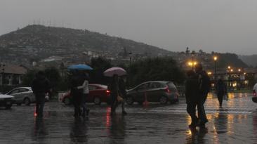 Cusco soporta una lluvia de más de cinco horas [FOTOS]