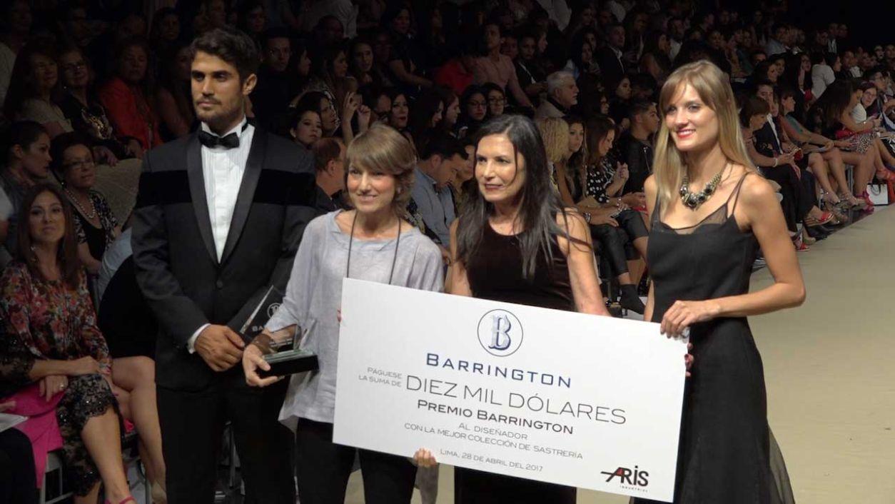 LIF Week: Stika Semsch fue la ganadora del Premio Barrington