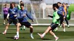 Madrid: Isco entrenó con titulares previo a duelo ante Valencia - Noticias de gareth bale