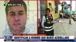 San Martín de Porres: sicarios matan a sujeto en un car wash - Noticias de cesar jimenez