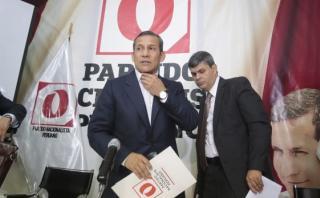 Ollanta Humala fue procesado por presuntos delitos de desaparición forzada, asesinato y tortura cuando estaba en la base Madre Mía (Huánuco) en 1992. El caso fue archivado en el 2009 por el Poder Judicial. (Foto: Hugo Pérez / El Comercio)