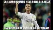 Real Madrid vs. Valencia: Cristiano Ronaldo protagoniza memes