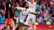 Real Madrid ganó 2-1 al Valencia en el Bernabéu por la Liga
