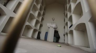 Mausoleo senderista: Municipio de Comas, listo para derrumbarlo