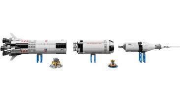 Lego lanzará oficialmente la réplica del Apollo Saturn V