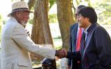 Evo Morales: Me ha sorprendido la entrevista de Morgan Freeman