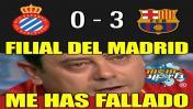 Barcelona: los divertidos memes del triunfo ante Espanyol