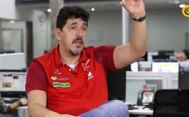 """Luizomar de Moura: """"Estamos camino a tener el nivel de Brasil"""""""