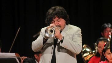 Andrea Giuffredi deleitó a cusqueños junto a sinfónica [FOTOS]