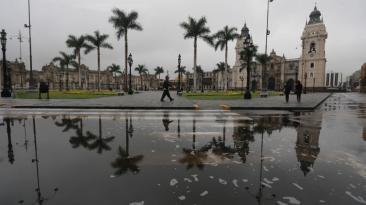 Llovizna en Lima duró hasta 8 horas: humedad llegó al 100%