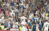 Jornada 2 de La Liga: Toni Kroos anota al 81'. El Real Madrid venía empatando a 1 frente al Celta. (Foto: EFE)