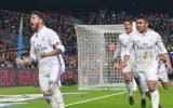 Jornada 14 de La Liga: Real Madrid caía por un tanto en el clásico. Sergio Ramos anotó el empate definitivo a los 90'. Enmudeció el Camp Nou. (Foto: Reuters)