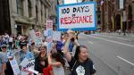 Protestas ensombrecen los primeros 100 días de Trump - Noticias de activistas ambientales