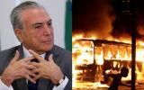 "Temer: ""Brasil seguirá trabajando con o sin protestas"""