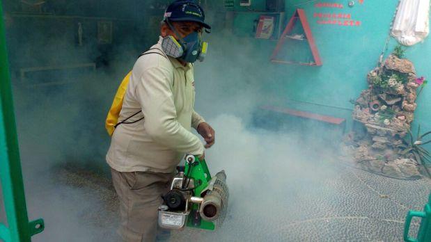 Las autoridades señalan que aún hay mucha gente renuente a la fumigación (Foto: Ralph Zapata)