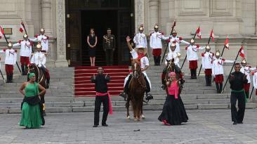 Cambio de guardia rindió homenaje a operación Chavín de Huántar