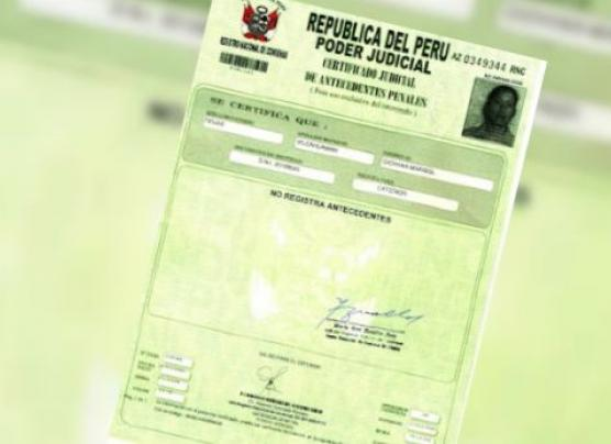 Cómo obtener certificado de antecedentes penales por internet