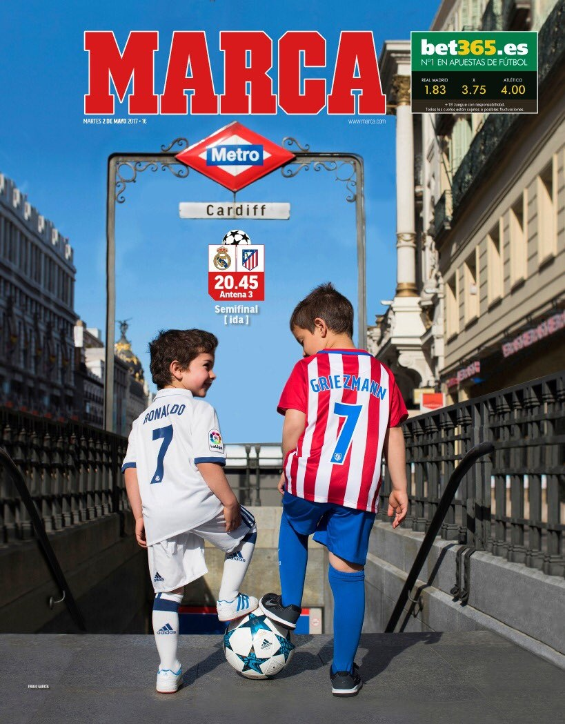 El Real Madrid y el Atlético se enfrentan este martes por Champions League. (Foto: AFP)