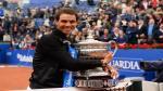 Rafael Nadal: así celebró su décimo Abierto de Barcelona - Noticias de rafael nadal