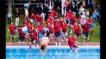 ¿Por qué Nadal celebró en Barcelona lanzándose a la piscina? - Noticias de rafael nadal