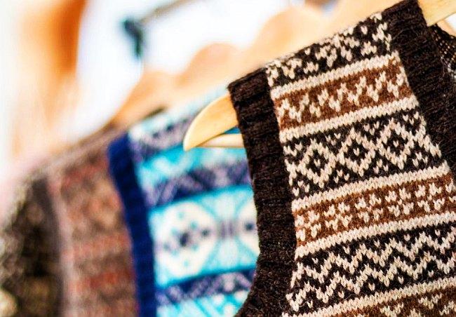 Los diseños de Mati son usados por estudiantes de exclusivas universidades en Estados Unidos y por pescadores azotados por el viento. (Foto: Bloomberg)