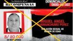 Los más buscados: detuvieron a 15 agresores sexuales en abril - Noticias de mamani rodriguez