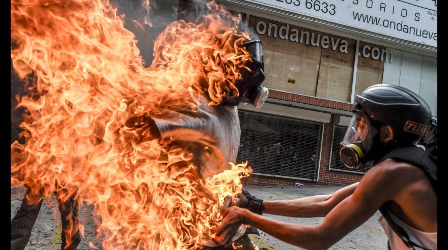 / AFP / JUAN BARRETO