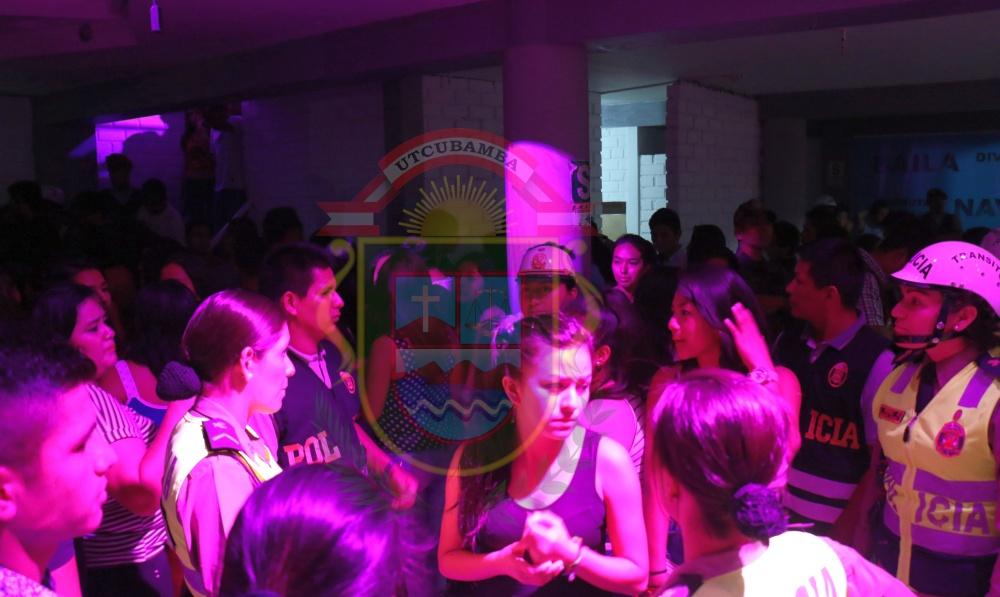Este fin de semana se hallaron 10 menores de edad en ocho discotecas de Utcumbamba (Foto: Municipalidad Provincial de Utcubamba)