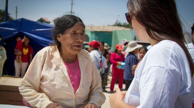 Voluntarios hicieron entrega de los donativos recaudados durante el concierto de Justin Bieber en el Perú. (Foto: Move Concerts/ Difusión)