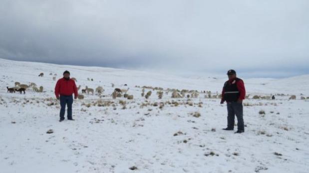 ¡Atentos! Senamhi declara en alerta 13 regiones por bajas temperaturas