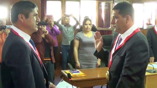 Ernesto Almanza Pantoja fue nombrado Consejero regional en reemplazo de Gamarra Alor, quien ocupará la Presidencia Regional (Foto: Gobierno Regional de Áncash)