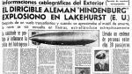 Hindenburg, el zepelín de la muerte - Noticias de eden von sleaze