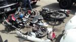 Costa Verde: así acabaron la camioneta y las motos tras choque - Noticias de jesus hernandez