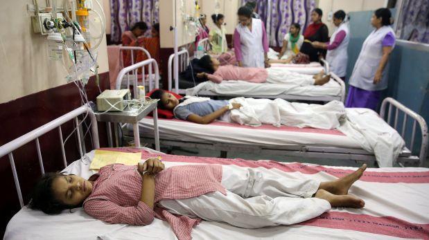 Hospitalizan a 300 niñas por fuga de gas toxico