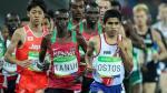Luis Ostos batió el récord nacional de 10 mil metros en EE.UU. - Noticias de lee jordan