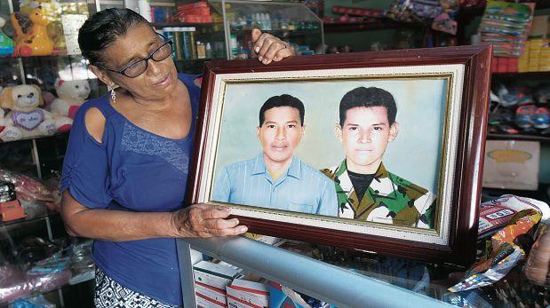 Manuela Soto aún llora a sus dos hijos asesinados por Sendero Luminoso. (Foto: Dante Piaggio/El Comercio)