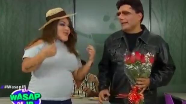Paolo Guerrero da su bendición a Alondra y Cristian Meier