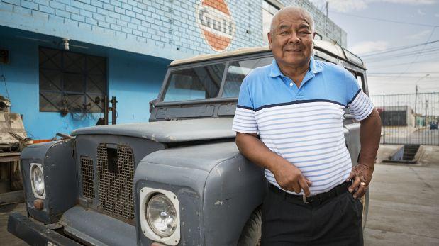 Juan Campos Muñoz, el creador de Discos Horóscopo, el sello que impulsó la música chicha. (Foto: Manuel J. Orbegozo)
