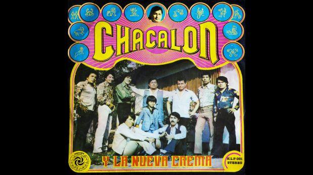 Portada original del primer álbum de Chacalón y la Nueva Crema.