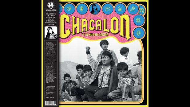 La portada de la reedición en vinilo realizada por Jalo Nuñez Prado. (Proyecto de Jalo Núñez del Prado)