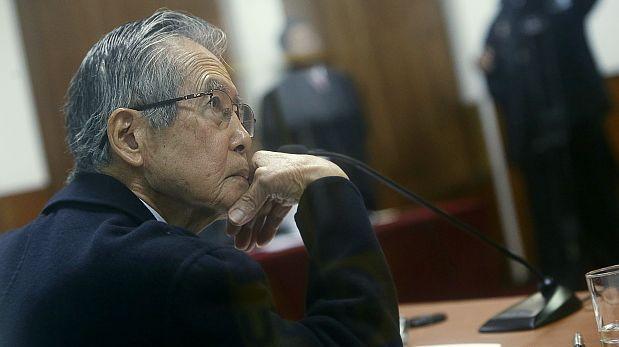 Trasladan a Alberto Fujimori al hospital por problemas cardiacos