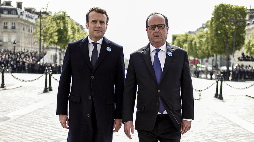 Presidente electo Macron dimite como líder de su partido