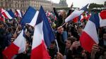 Partidarios de Macron celebran la victoria en las calles - Noticias de fotos de perfil